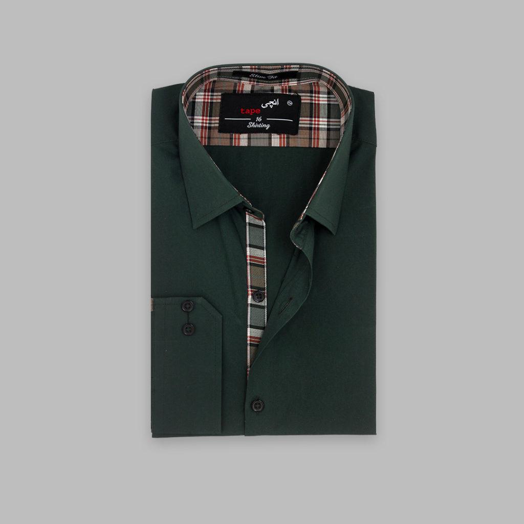 Green Thailand Cotton Shirt