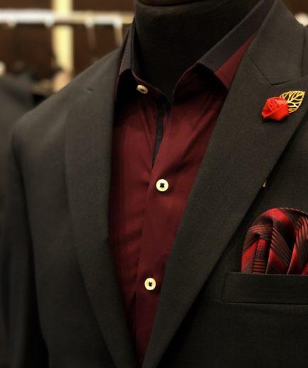 Pin Jacquard Suit