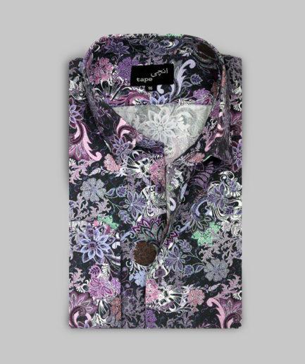 Multi Color Floral Shirt