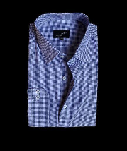 Light Blue Mini Pattern Shirt