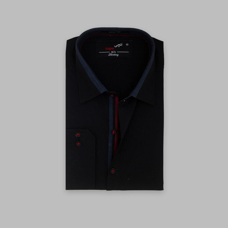 Black Cotton Shirt