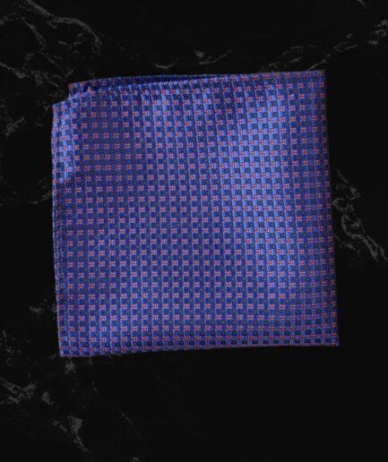 Purple & Maroon Pin Textured Embossed
