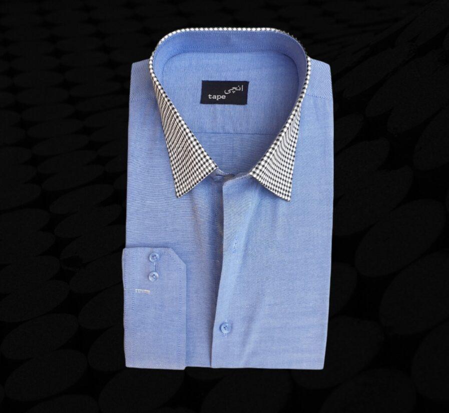 Light Blue French Cotton Shirt