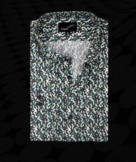 Camo Dark Green Shirt