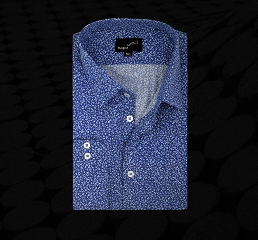 Mini Blue Floral Shirt