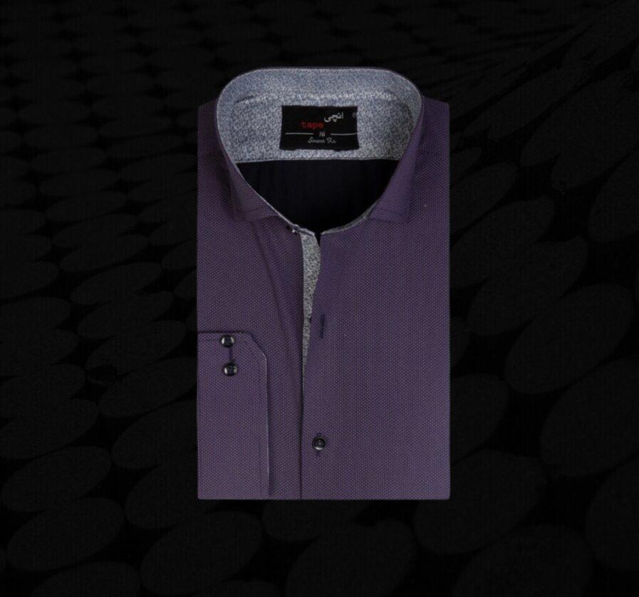Purple Pin Dot Shirt