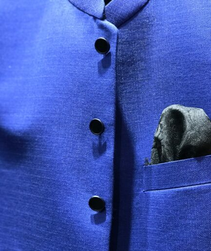 Royal Blue Waist Coat
