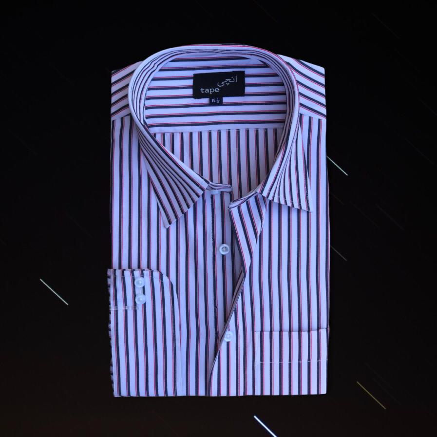 Light Weight Cotton Striped Shirt