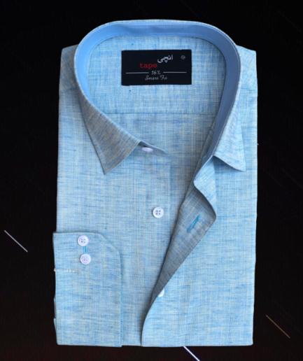 Maya Blue Linen Shirt