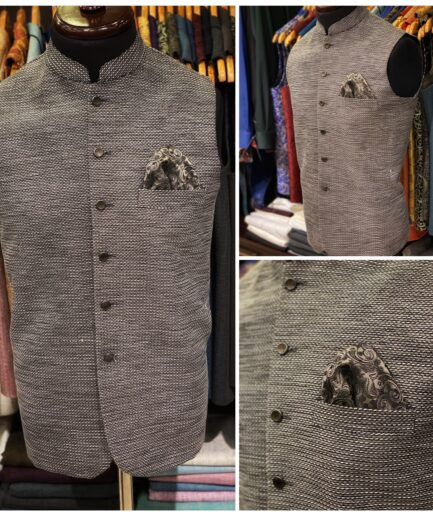 Multi Thread Jute Waist Coat