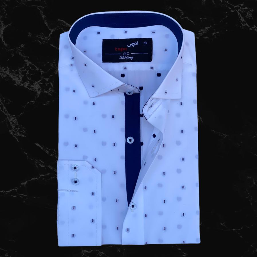 White Arrow Printed Shirt