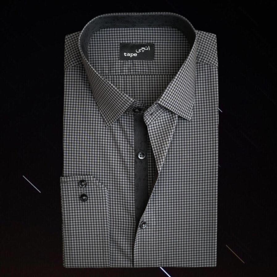 Mini Black Checkered Shirt