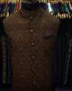 Copper Jamawar Waist Coat