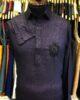 Purple Shirt Collar Shalwar Kameez