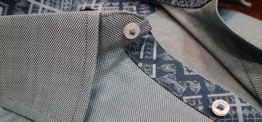 Pistachio Green Cotton Shirt