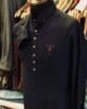 Navy Blue Cotton Linen Kurta Trouser