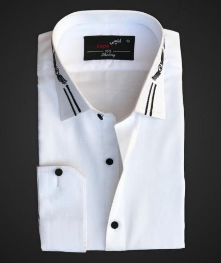 White Premium Textured Cotton