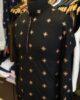 Golden Motif Embroidered Kurta