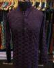 Purple Embroidered Kurta