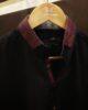 Black Duck Collar Kurta Pyjama