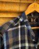 Blue & White Checkered Kurti